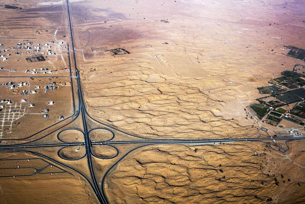 Pohled z letadla Emirates 9