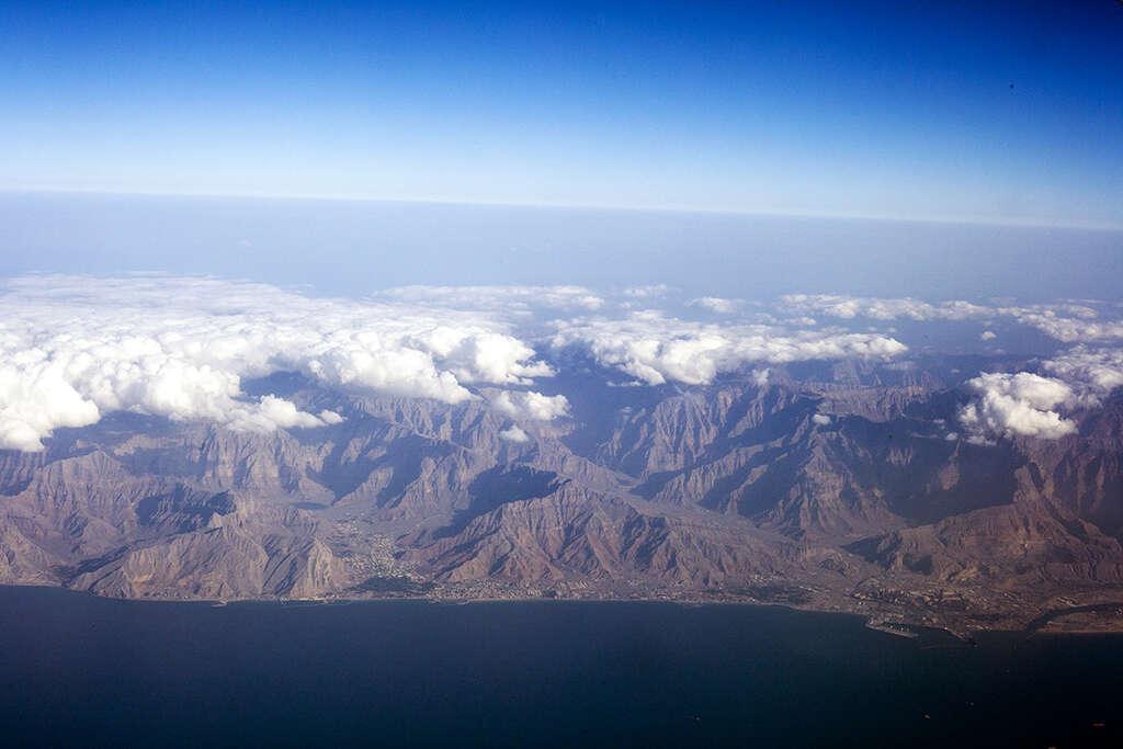 Pohled z letadla Emirates 6