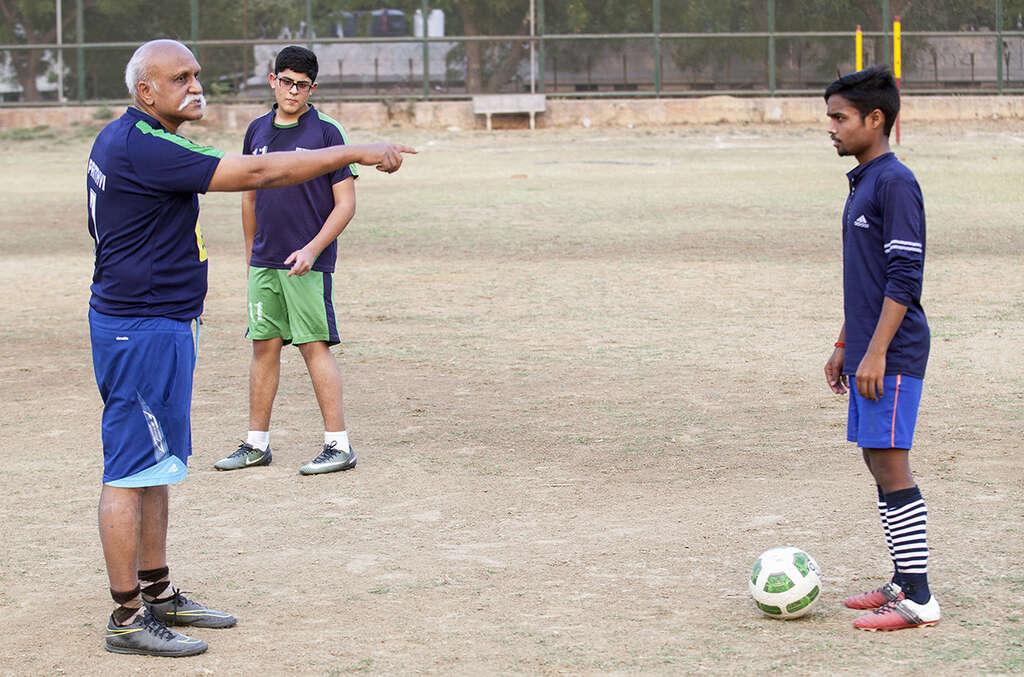 Indický fotbal 4