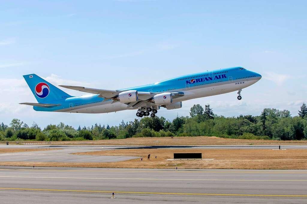 Korean Boeign 747-8i