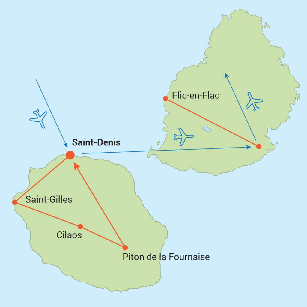 Mauricius a Réunion